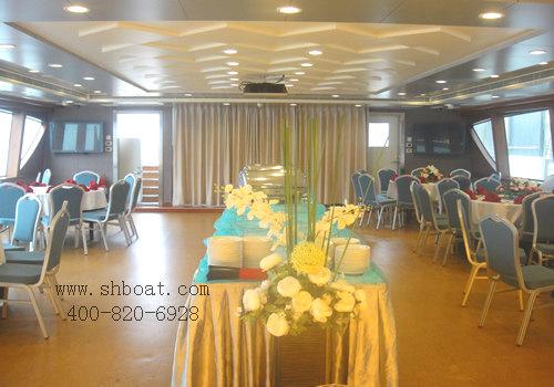 上海游轮年会-尚德国盛号-上海游轮船餐图片